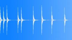 Metal Hammering Sledge Hammer Hit Series x 9 Steel Chisel Medium Hard Bangs Hig Sound Effect