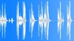 Metal Hits Metal Steel Rod Drop Slides Bounces Pick Up Flatbed Vibrates Fall Me Sound Effect