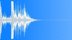 Metal Drops Metal Drop Small OnWood Low Sound Effect