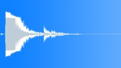 Foley Metal Hit Bang Metal Slight Rattle Sound Effect