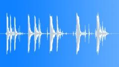 Foley Metal Rattle Bang Hit 5X Sound Effect