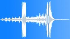 Metal Various Metal Trash Can Lid Spin Crash Sound Effect