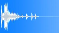 Sound Design Science Fiction Metallic Impact Drop Bounce Rattle Close Up Sound Effect