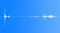 Foley Money Bills Grab Handling Quick Rustle Snaps Cash Paper Close Up Interior Sound Effect