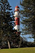 The lighthouse in Swakopmund, Namibia Stock Photos