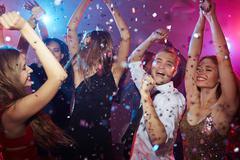 Dancing in club Kuvituskuvat