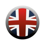 Flag england europe design Stock Illustration