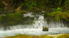 Footage source of water in the mountain. 4K Stock Footage
