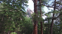 Flatirons in Boulder Stock Footage