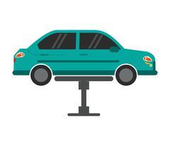 Car repair automobile design Stock Illustration