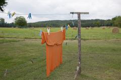 Laundry concept, Washing expand Stock Photos