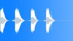 Sound Design Various Sound Design Junky Impacts Series x 4 Metallic Fence Hard Sound Effect