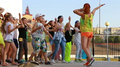 Dance competition. (Editorial) Stock Footage