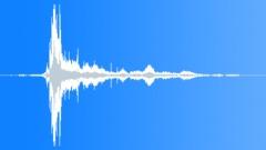 Ice and Snow Snow Clump Drop Nylon Slide Sound Effect