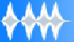 Sound Design Atmospheres Pulse Series x4 Drone Low Rumble Increase Decrease Hug Äänitehoste