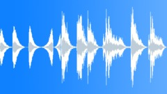 Sound Design Electrical Guitar Chord Impacts Various Performances Downward Upwa Sound Effect