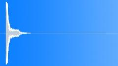 Sound Design Hits Bursts Hard Knock Slight Distorted Low Resonant Metallic Clun Sound Effect