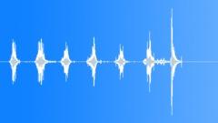 Sound Design Hits Bursts Metallic Junk Various Tools Drag Series x 7 Robot Walk Sound Effect