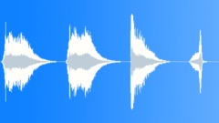 Sound Design Stingers Series x 4 Attack Soft Long Vocal Breath Low Rumble Deep Sound Effect