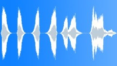 Sound Design Swirling Series x7 Fast Short Aggressive Nice Dull Whistle Whoosh Sound Effect