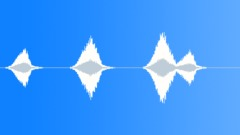 Sound Design Whoosh Swooshes By Slow Series x 3 Speed Up Slight Distorted Raspy Sound Effect