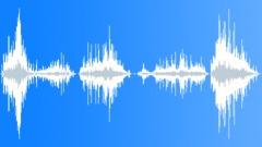 Foley Various Water Swirls Series x 5 Deep Heavy Close Sound Effect
