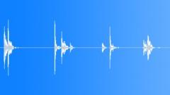 18th Century Wheelbarrow Wood Drop Clumsy x4 Sound Effect