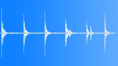 Cars Various Hits Window Headlight Windshield Hit Metal Bar Manic x6 Sound Effect