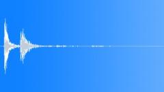 18th Century Wood Drop Pile Dull Medium Roll Sound Effect