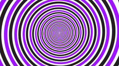 Hypnotic rotating spiral Stock Footage