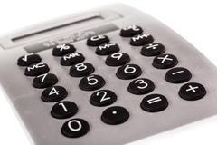Plastic office calculator Stock Photos