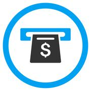 Payment Slot Rounded Vector Icon Stock Illustration
