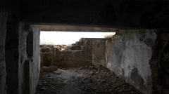 Inside the Bunker of World War ii 1941-1945 Stock Footage