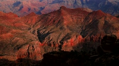 Layers and colors  at the Grand Canyon Stock Footage