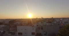 SALENTO - Aradeo, Sunrise - Alba, Aerial Footage - Riprese Aeree, 4K Stock Footage