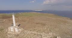 SALENTO - Isola Di Sant'Andrea, Aerial Footage - Riprese Aeree, 4K Stock Footage