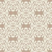Vector Seamless Pattern. Laser Cut Template Stock Illustration