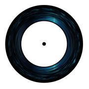 Seven Inch Vinyl Stock Illustration