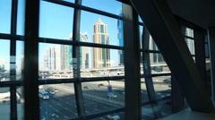 Dubai Marina, United Arab Emirates Stock Footage