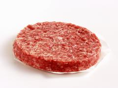 A Hamburger Patty Stock Photos