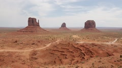 Beautiful Monument Valley Utah Stock Video Stock Footage