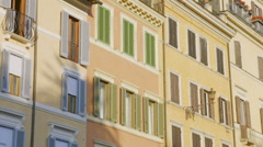 Traditional old Italian house Stock Footage