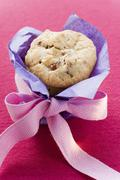Cranberry biscuits to give as a gift Stock Photos