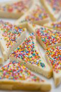 Fairy bread (Bread triangles topped with sprinkles, Australia) Kuvituskuvat