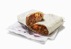 Fast Food Burrito Stock Photos