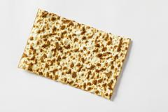 Matzo (Jewish flatbread) Stock Photos
