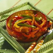 A pepper medley Stock Photos