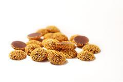 Peanut Butter Nonpareils Stock Photos