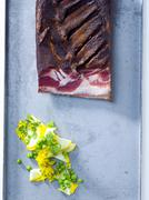 Sliced bacon Stock Photos