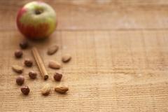Autumnal baking ingredients Stock Photos